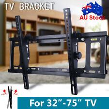 TV Wall Mount Bracket Full Motion Swivel LCD LED 32 40 43 47 50 55 60 65 70 75