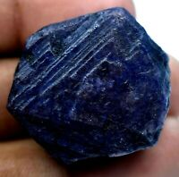 Natural Africa Huge Blue Sapphire 158.5 CT Certified Earth-Mined Specimen Rough