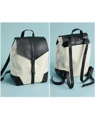 Deux Lux Demi Backpack In Hand New Black White FABFITFUN  Retail: $75