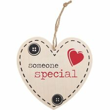 Valentines Day Wedding Gift Wooden Shabby Chic SOMEONE SPECIAL wooden Heart Sign