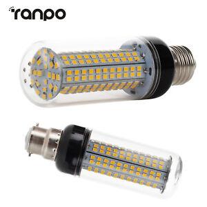 LED Corn Light Bulbs E26 E27 E14 SES B22 32W 2835 SMD 100W Equivalent Lamp SS286