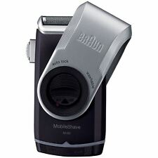 Braun Mobile M-90 Pocket Travel Washable Battery Shaver With Trimmer