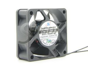EC Brushless Axial Cooling fan 60mm AC 110V 115V 220V 230V 5W 5500RPM 25.2CFM