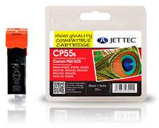 3 x PGI-525 Black Jet Tec Ink Cartridges fits Canon + Free Celcast Photo Paper