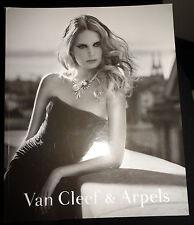 Van Cleef & Arpels 2009 Agenete HEGELUND fashion jewelry catalog necklace watch