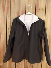 NIKE Jacket Windbreaker Reversible Black and White Women's Size S (4-6)