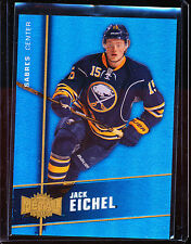 2015-16 FLEER SHOWCASE PMG BLUE JACK EICHEL /50 PRECIOUS METAL GEMS RC