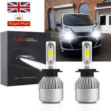 FOR Ford Transit Custom 2012-on Pair Bulb H7 LED Headlight Low Beam White CANBUS