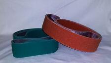 "2""x72"" Premium Sanding Belts Variety Pack Knife Makers Kit (60pcs)"
