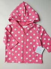 BABY GIRL LIGHTWEIGHT HOODIE JACKET SIZE 000 FITS 0-3M *NEW