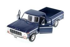 1979 Ford F-150 Pickup Truck Blue 1:24 Scale Diecast CAR Model 79346BL*