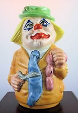 "Royal Doulton Toby Jug ""Charlie Cheer The Clown"" D6768"