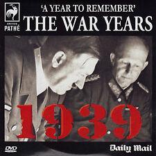 BRITISH PATHE - THE WAR YEARS - 1939 - MAIL PROMO DVD