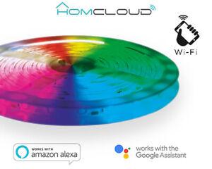 Homcloud EE-24WSL5 Domotica Striscia LED wi-fi Kit dimmerabile 5m
