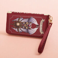 Cosplay Anime Card Captor Sakura The Clow Long Zip Wallet Purse Coin Bag Red New