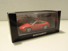 Porsche 911 Targa Typ 997 - 2006 indian red - Minichamps 1:43