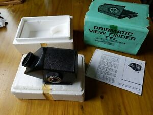 TTL prism view finder for Salut-S Kiev-88 medium format camera Boxed with manual