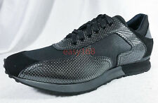New Kenneth Cole Italy Sz 11 Leather Shoes Black Label Fashion Sneakers Haan