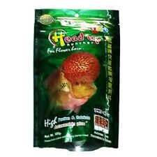 Okiko Fish Food Cichlid Flowerhorn Calcium Head Faster Floating L Pellets 100g