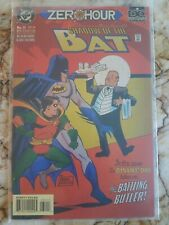 Batman Shadow Of The Bat #31 Nm- Zero Hour 1 Tie In Comic 1994