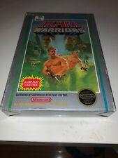 NES Ikari Warriors Hangtab CIB 5-Screw Original RARE (1987) Complete VGC