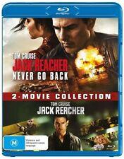 Jack Reacher / Jack Reacher - Never Go Back (Blu-ray, 2017, 2-Disc Set)