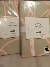 2 Pottery Barn Aubrey organic Euro shams light taupe