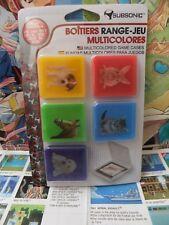 Subsonic boitiers Range jeux multicolores pour Console Nintendo 3ds 2ds
