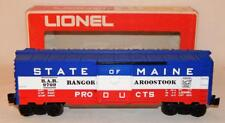 Lionel Trains 6-9709 State of Maine B.A.R. Box Car O MPC Freight Cars 1972-1974