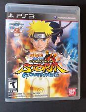 Naruto Shippuden Ultimate Ninja Storm Generations [ W/ Bonus Cards ] (PS3) USED