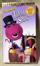 BARNEY BARNEY'S TALENT SHOW Vhs Video Tape Purple Dinosaur 1996 Lyons Group NEW