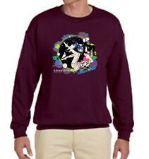 ASIAN KUNG FU GENERATION Japan Rockband Maroon  Sweater Size S-3 XL #1