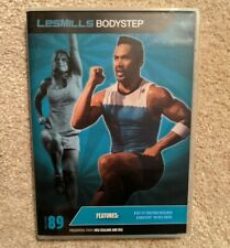 New Les Mills Body Step Release 89 Complete Instructor Kit Notes Dvd Cd set