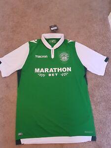 Hibernian football shirt