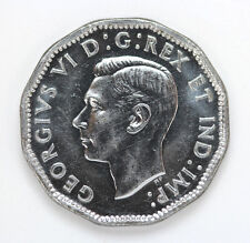 1944 Canada 5 Cents George VI Km40a - CH BU #01271926g