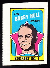 1971-72 TOPPS STORY BOOKLETS #1 BOBBY HULL