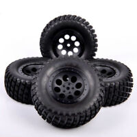 US 4X  For TRAXXAS SLASH Truck 1:10 12mm Hex RC Short Course Truck Tires&Wheels