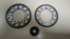 YAMAHA YZF R1 98-08 RENTHAL SPROCKETS 530 REAR 43T & 45T FRONT 16T