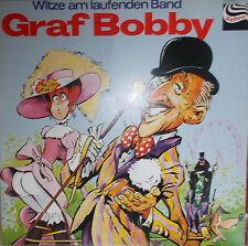 LP Graf Bobby Live - Witze am laufenden Band ,NEAR MINT,Zebra 91.510
