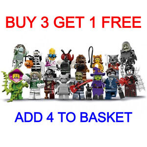 LEGO 71010 SERIES 14 MINIFIGURES (PICK YOUR MINIFIGURE) BUY 3 GET 1 FREE!!