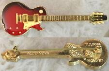 Hard Rock Cafe TIJUANA 1997 WALL Guitar Series PIN - Aldo Nova HRC Catalog #9773
