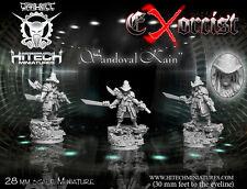 HITECH MINIATURES - 28SF094 Sandoval Kain 28mm *Warhammer 40k 40000*