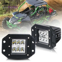 2x Cube 3Inch Led Work Light Bar SPOT Pods Offroad Driving 4WD Wildcat Truck ATV