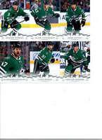 2018-19 Upper Deck Series 2 Hockey Dallas Stars Team Set of 6 Cards