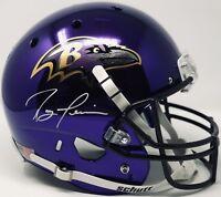 JSA Baltimore Ravens RAY LEWIS Signed Autographed CHROME Football Helmet HOF18