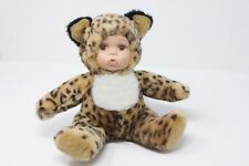 "Showstoppers inc Lakewood NJ ""Leopard Baby"" Reg no PA-9091 Plush/ceramic Doll"