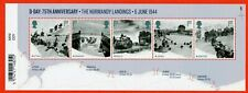 2019 D-Day Landings Minisheet - WITH BARCODE