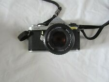 Vintage Asahi Pentax ME SLR Camera with SMC Pentax-M 1:1.7 50mm Lense