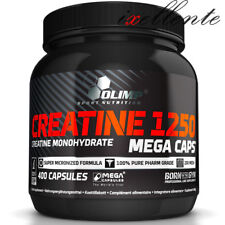 OLIMP CREATINE MONOHYDRATE BOOST STRENGH & MUSCLE SIZE 1250mg 400 MEGA CAPS