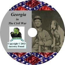 Georgia Civil War Books History & Genealogy 20 Books